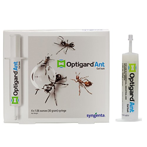 Optigard Ant Bait Gel Box of 4 Tubes w/plunger (30 grams per Tube) ~Compares to Maxforce and Advion...