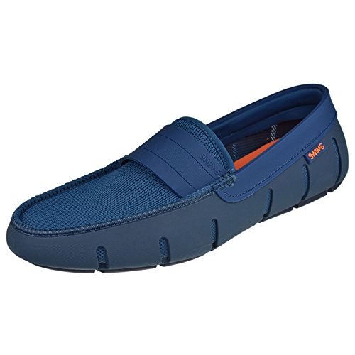 SWIMS Stride Single Band Loafer in Posedion/Navy, Size 10 by SWIMS