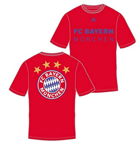 fan products of FC Bayern Munich adidas Primary One Red T-shirt XX-Large