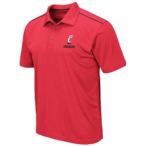 Mens Cincinnati Bearcats Eagle Short Sleeve Polo Shirt - - Reds Polo Cincinnati