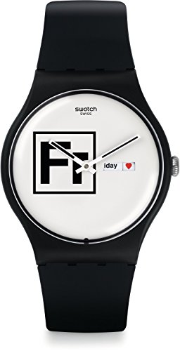 Swatch Fritz Unisex Quartz 41 Mm Wrist Watch # Suob722