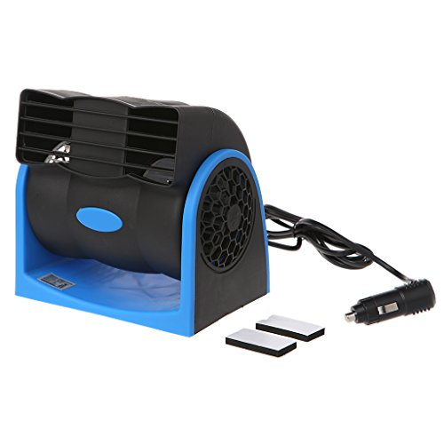 Xumeili Creative Car Vehicle Truck Cooling Air Fan Adjustable Speed Silent cooler 12V/24V (12V)
