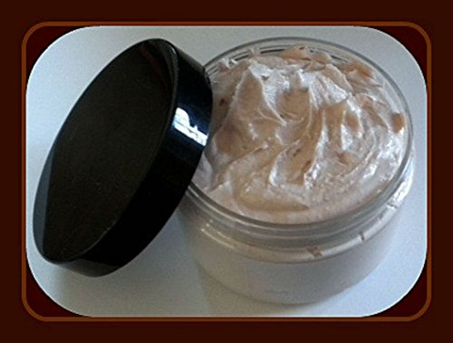 Foaming Bath Butter Whipped Soap - Soap in a Jar - Travel Soap - Warm Vanilla Sugar - FREE U.S. SHIPPING - 4 oz - Gift for Mom ()