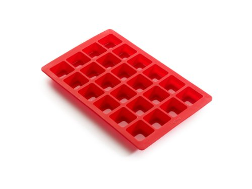 Red Mini Model - Lekue 24 Cavity Mini Brownie Mold Pan, Model # 0216024R01M017, Red
