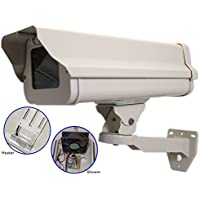EVERTECH Outdoor CCTV Camera Housing & Bracket, Built in Heater/Blower, 24V AC