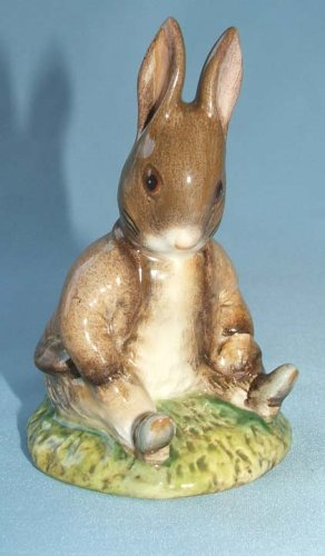 Beatrix Potter Benjamin Bunny Sat On A Bank by Royal Albert (Peter Rabbit Bank)