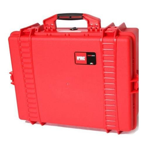 2600F HPRC Hard Case with Cubed Foam Interior (Red) B013TPOQU2