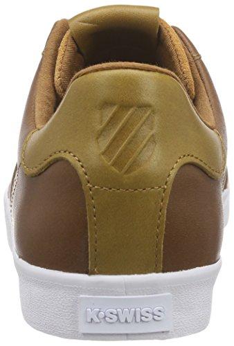 K-Swiss Belmont P - Zapatillas Hombre Braun (Brown/Golden Brown/White 299)
