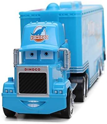 4-21cm Disney Pixar Cars 2 Toys Lightning McQueen Mack Uncle TruckThe King Chick