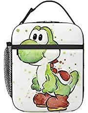 Lunch Bag Insulated Lunch Box Suitable For Work Picnic Travel Lunch Container-Yoshi-Watercolor