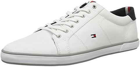 Tommy Hilfiger Men's Flag Trainers, White