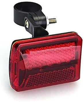 Hereforth Luz Trasera para Bicicleta-Luz Bicicleta Trasera,1Pc Rojo Intermitente 5 Bombillas LED 7 Modos Lámpara Trasera para Bicicleta Bicicleta Luz antiniebla: Amazon.es: Deportes y aire libre