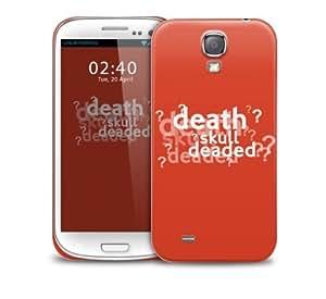 sherlock quote orange Samsung Galaxy S4 GS4 protective phone case wangjiang maoyi