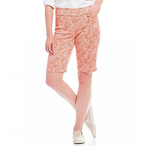 習熟度後方出席(イントロ) Intro レディース ボトムス?パンツ ショートパンツ Sheri Pintuck Pull-On Stripe Bermuda Shorts [並行輸入品]