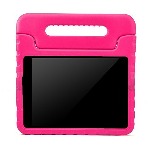 BMOUO Samsung Galaxy Tab E Lite 7.0 inch Tablet Kids Case - Rose Color