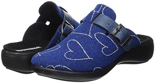 Romika blau Chaussons Ibiza Mules 500 322 Blau Femme Home rwUr6T