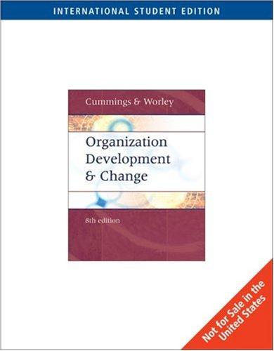 Download Organization Development and Change pdf