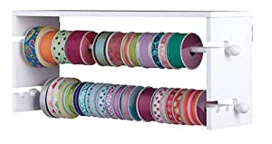 Amazon Com Jetmax Simply Built Craft Storage Wall Ribbon