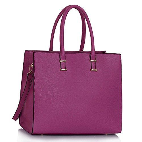 main CWS00319 cabas Hotselling femme qualité de femme Violet en 1 branché à Sacs Desinger sac Fashion Sac 6STHwqOgx
