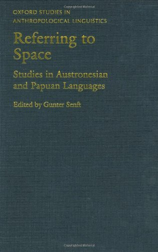 Referring to Space: Studies in Austronesian and Papuan Languages (Oxford Studies in Anthropological Linguistics) Pdf