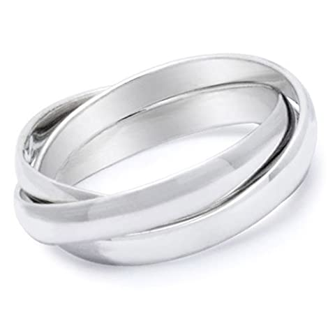 ONLY LOVE YOU - Love Ring / Promise Ring (SIZE 6) Size Width 6mm - Top Quality 316L Stainless Steel Womens Rings. Commitment / Purity Ring or Anniversary Gifts for her. I Love you Gifts. (I Love Only You Ring)