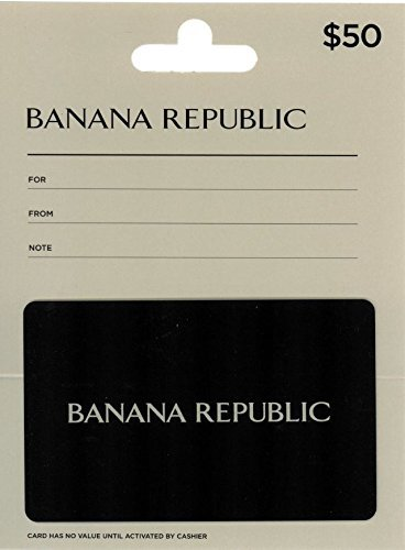 Banana Republic $50 Gift Card from GAP