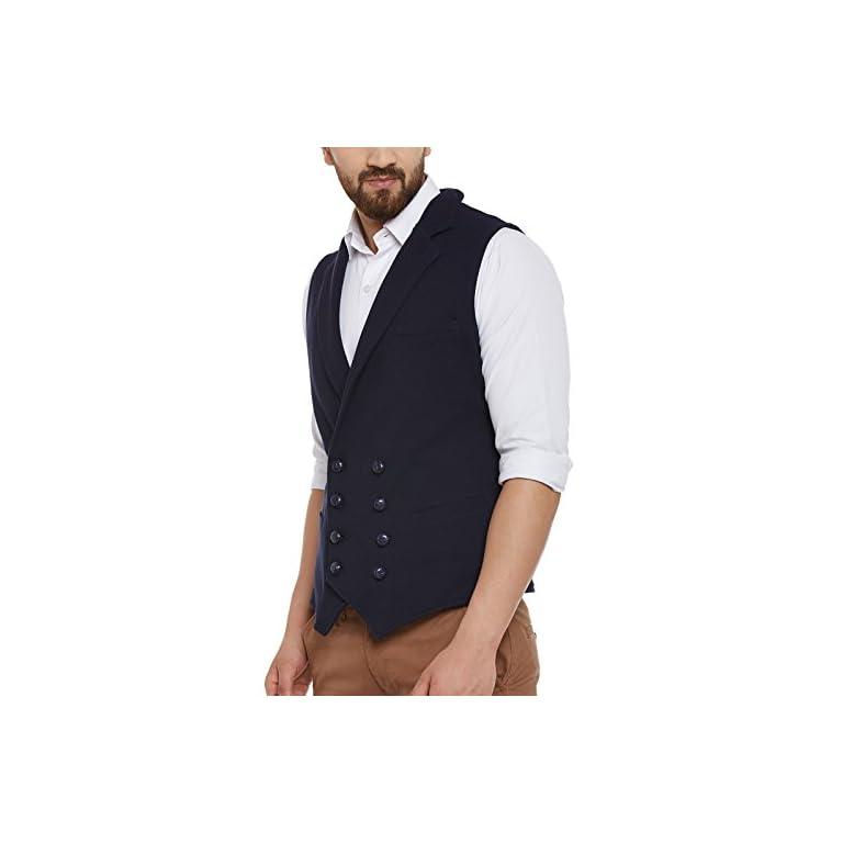 41XeHzeY7rL. SS768  - HYPERNATION Men's Nehru Jackets Waistcoat
