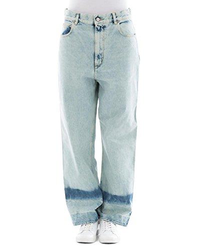 Golden Goose Femme G32WP007A4 Bleu Claire Coton Jeans