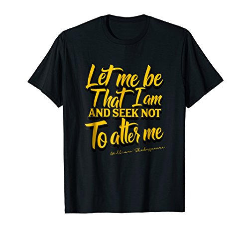 Shakespeare Quote Tshirt Much Ado About Nothing Gift Play ()