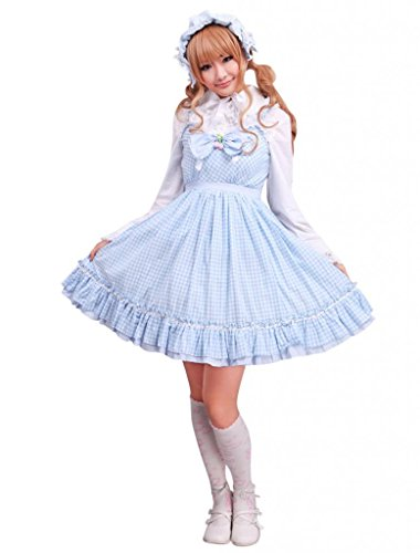 Adult Gingham School Dress - 5