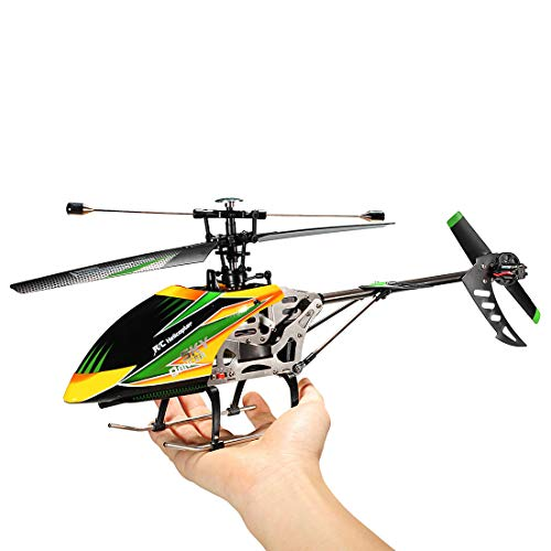 Leoie Sky Dancer 4CH RC Helicopter with Gyro BNF for WLtoys V912