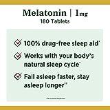 Nature's Bounty Melatonin 1 mg, 180 Tablets