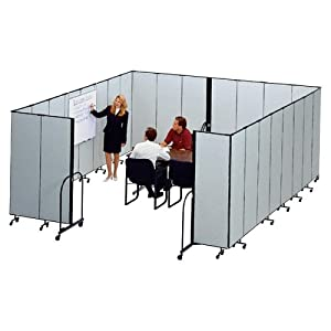 Portable Room Dividers Interlocking Mobile Partitions 11 Panels 20 5 X6