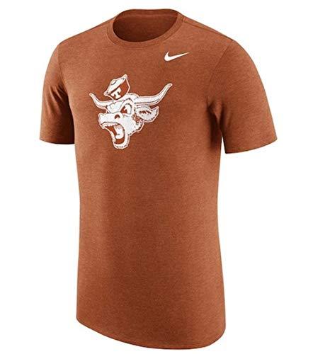 Nike Texas Shirt - Nike Men's Texas Longhorns Tri-Blend Desert Orange Vault T-Shirt Size Small