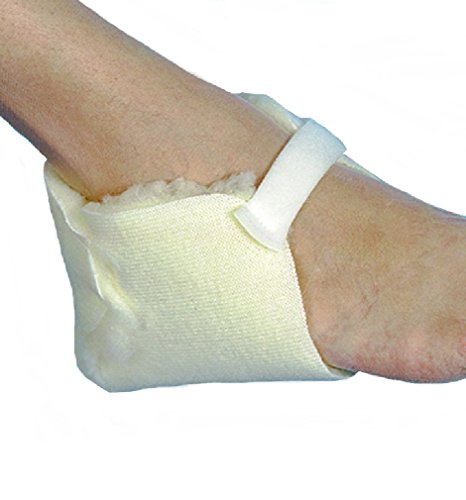 Lamb Booties - Skil-Care Heel Protector, Sheepskin # 503010 - pair by Skil-Care