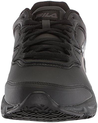 Fila 2 Memory Black Resistant Work Slip Shoe Fresh Start Women's aIrqBTxa