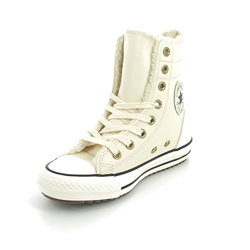 Converse Chuck Taylor All Star Hi-Rise X-Hi Little Kid's/Big Kid's Boots Parchment/Black/Egret 653389c (10.5 M (Converse High Boots)