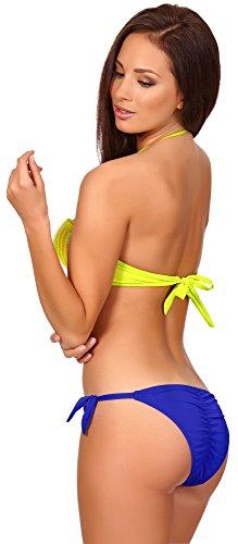 Limone Donna Top Bikini C4c4 Antie Giallo pwxnw