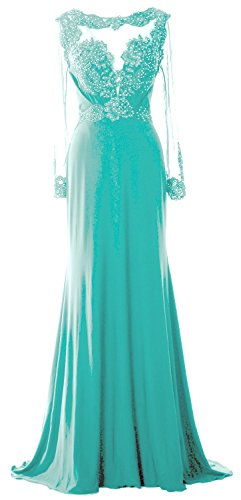 Dress of Minze Lace MACloth Sleeve Brides Beaded Gown Mother Formal Evening Women Long 7wTYYx8q4A