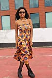 African Print Dress Wax Print Dress Festival Dress Bohemian Dress Boho Dress Continent Clothing Ethical Clothing Boho Dress Patterned Dress