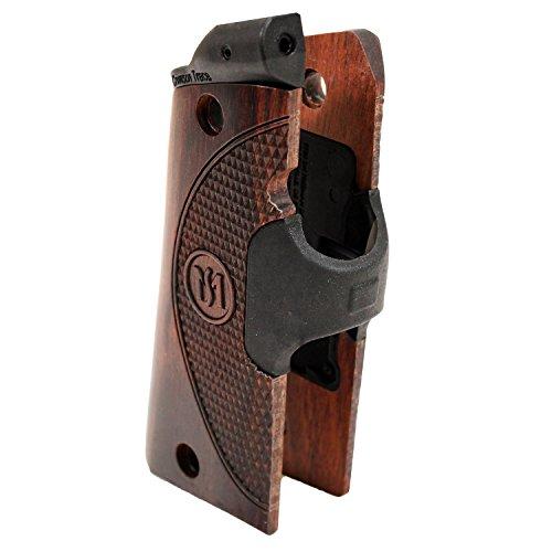 - Crimson Trace Master Series Green Lasergrip (Walnut) for 1911 Full Size Pistols - LG-908G