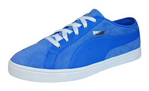 Womens PUMA Sneakers Leather 5 Blue Kai Shoes Nubuck Lo 9 44nrtwR1