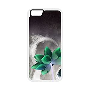 Flower iPhone 6 Plus 5.5 Inch Cell Phone Case White Zcohq