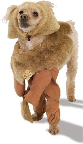 Tinman Dog Costume (Rubies Costume Wizard of Oz Cowardly Lion Pet Costume, Large)
