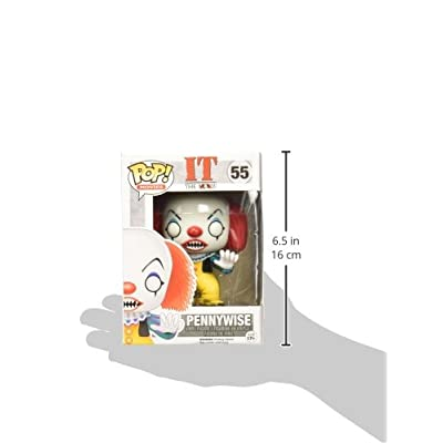 Funko Stephen King It Pennywise Classic Pop Vinyl Figure: Funko Pop! Movies:: Toys & Games