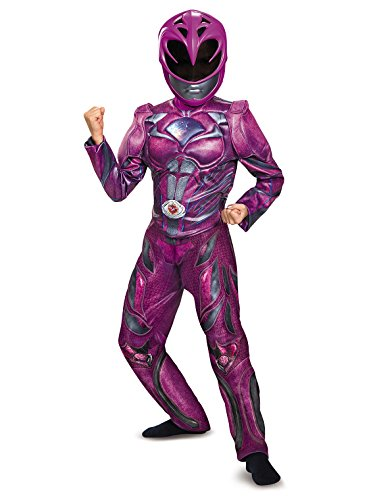 Disguise Ranger Movie Deluxe Costume, Pink, Medium (7-8)