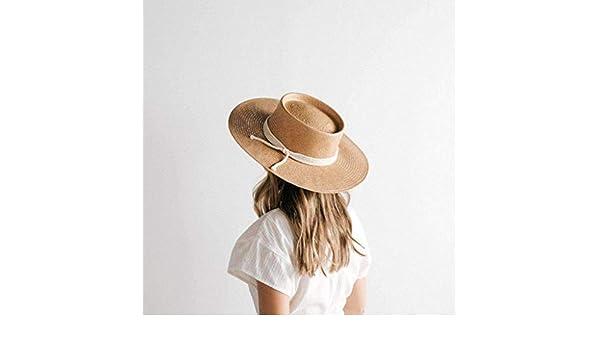 Wren Off White Round Top Hat