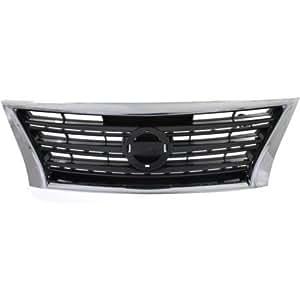 Amazon.com: MAPM Car & Truck Grilles Plastic Chrome Shell ...