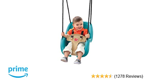 Outdoor Boy Toys Age 9 : Amazon step infant to toddler swing seat turquoise toys