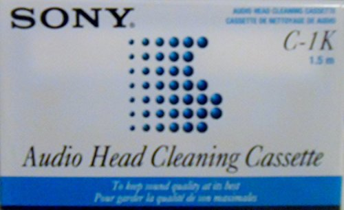 C-1k Dry Cassette Head Cleaner by Sony